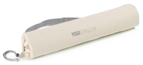 Yogistar Yogatasche Basic – Baumwolle – 65 cm – Naturweiß