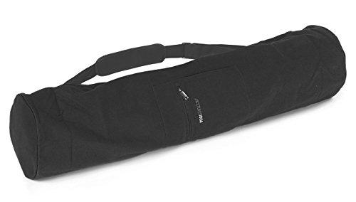 Yogistar Yogatasche Extra Big – Baumwolle – 100 cm – Schwarz