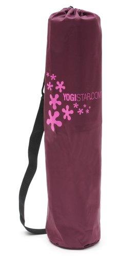 Yogistar Yogatasche Basic Logo – Nylon – 65 cm – Bordeaux