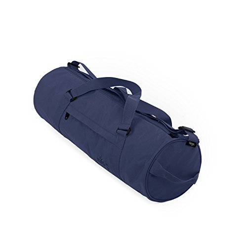 Yogatasche ASANA CITY BAG, groß & geräumig, Yogamattentasche mit abnehmbarem Schulterband und Handtrageband, spritzwasserfest (dunkelblau)