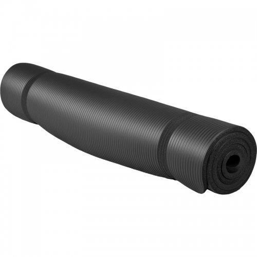 Yogamatte schwarz, 190x100x1,5cm