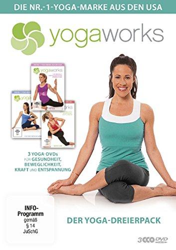 Yogaworks – Der Yoga-Dreierpack [Limited Edition] [3 DVDs]