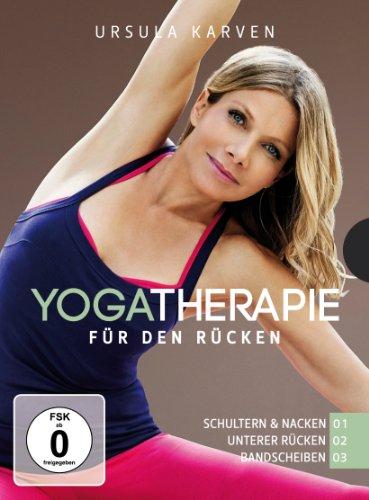 Ursula Karven – Yogatherapie 01 – 03 [3 DVDs]
