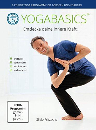 YOGABASICS: 6 mal 45 Minuten Power Yoga (3 DVDs – nicht für pure Anfänger geeignet)