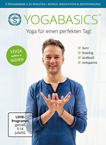 YOGABASICS: 8 mal 30 Minuten dynamisches Yoga am Morgen und Abend (3 DVDs – nicht für pure Anfänger geeignet)