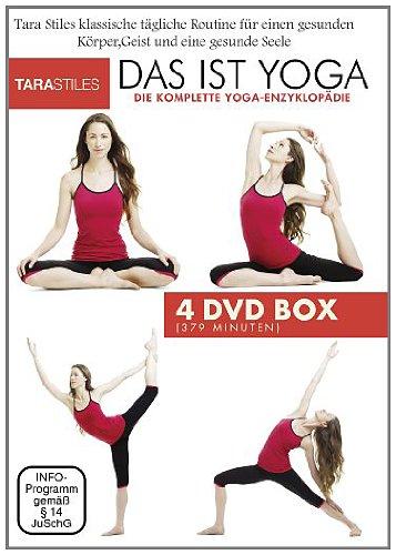 Das ist Yoga – Tägliches Yoga für jeden [4 DVDs]