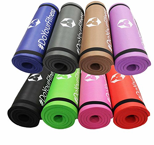 Fitnessmatte »Yamuna« / EXTRA-dick und weich, ideal für Pilates, Gymnastik und Yoga, Maße: 183 x 61 x 1,5cm, pink