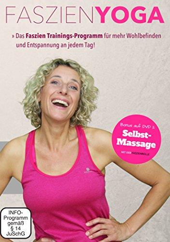 FASZIEN YOGA BASICS – Ein Grundkurs für mehr Wohlbefinden und Entspannung an jedem Tag. Mit Fokus auf einen starken und entspannten Rücken plus einem strafferen Bindegewebe! (2 DVDs)