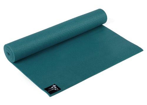 Yogistar Yogamatte Basic – rutschfest – Petrol