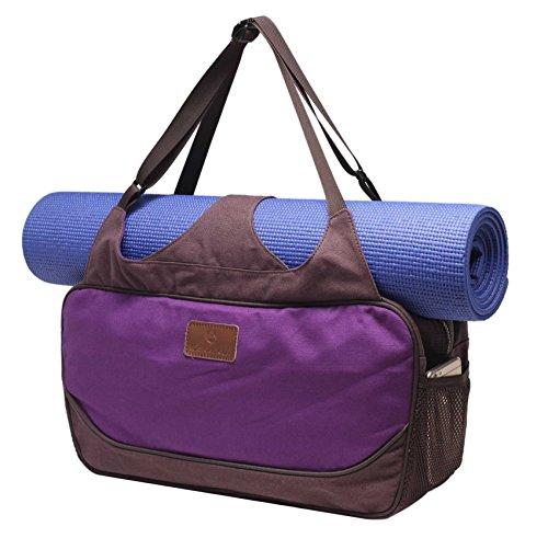 Große Yogatasche »Vimalaa« von #DoYourYoga aus Segeltuch