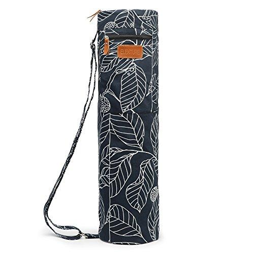 Elenture, durchgehende Reißverschluss Yoga-Mattentasche